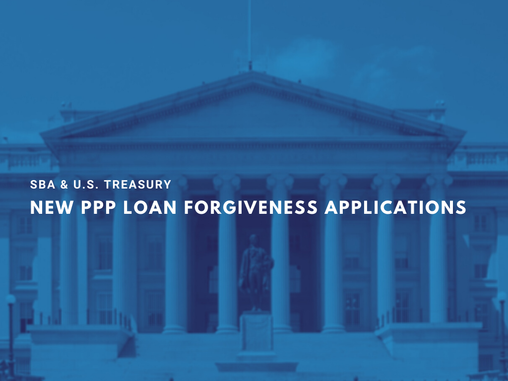 NEW PPP LOAN FORGIVENESS APPLICATIONS